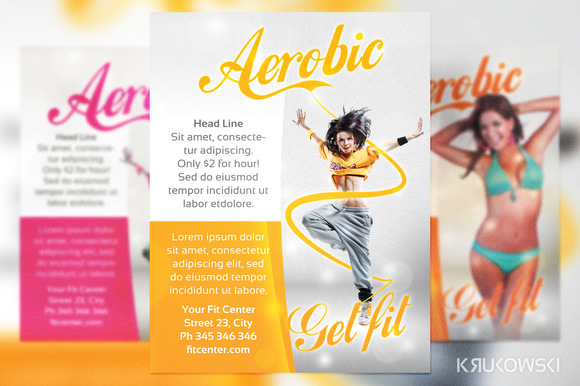 Aerobic Fit Flyer
