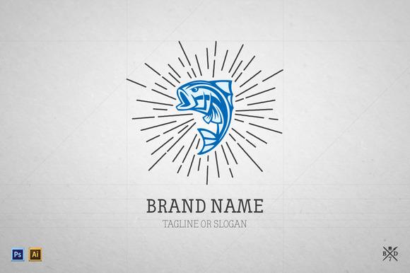 Logo Template #5 Big Fish