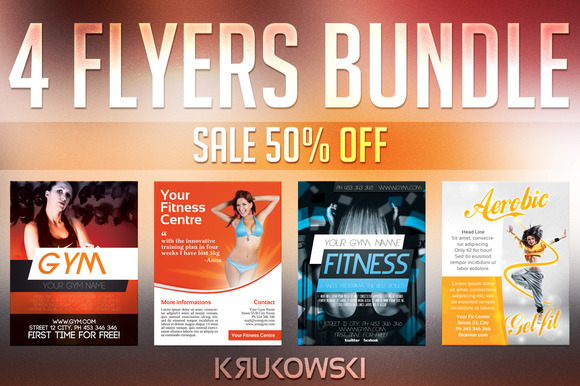 Fitness Flyers Bundle