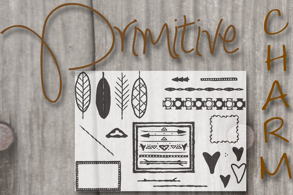 Primitive Handsketched Bundle
