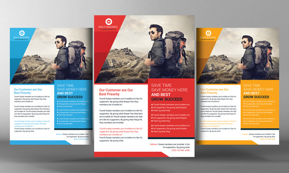 Tour Vocation Flyer Template