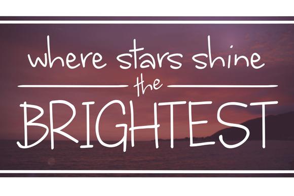 Where Stars Shine The Brightest