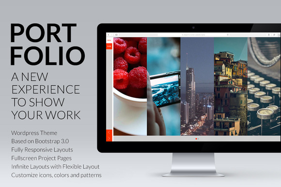 Portfolio Wordpress Responsive Theme