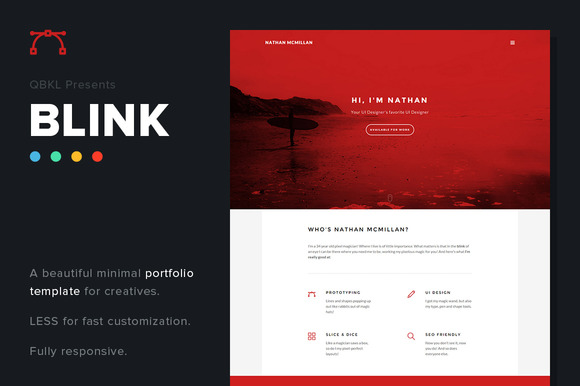 BLINK Creative Portfolio Website
