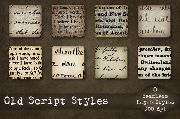 Old Script Styles