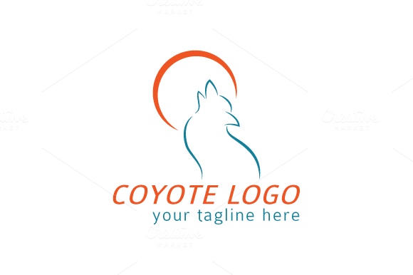Coyote Logo Template