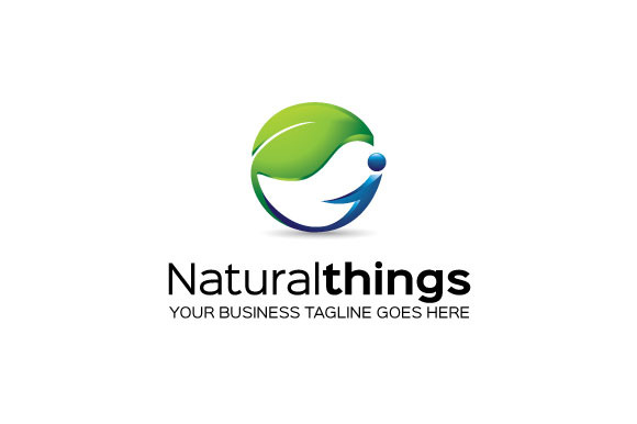 Natural Things Logo Template