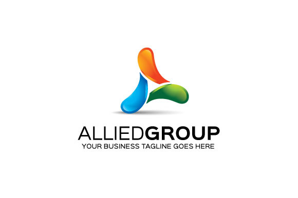 Allied Group Logo Template