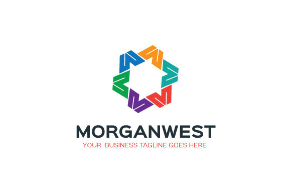 Morganwest Logo Template