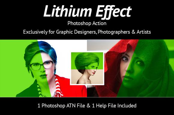 Lithium Photo Effect
