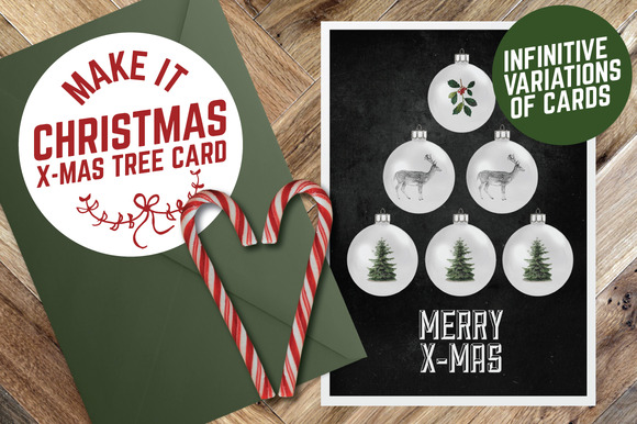 Make Your Own Christmas Tree Card