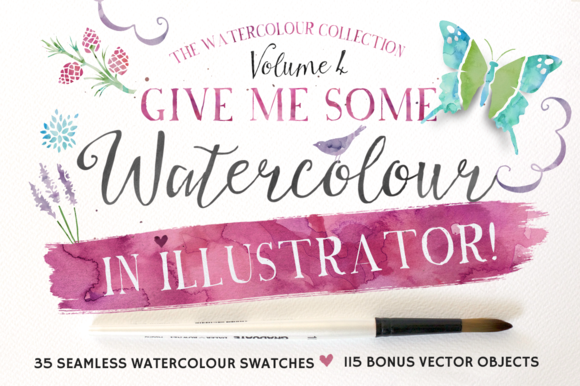 Give Me Watercolour In Illustrator