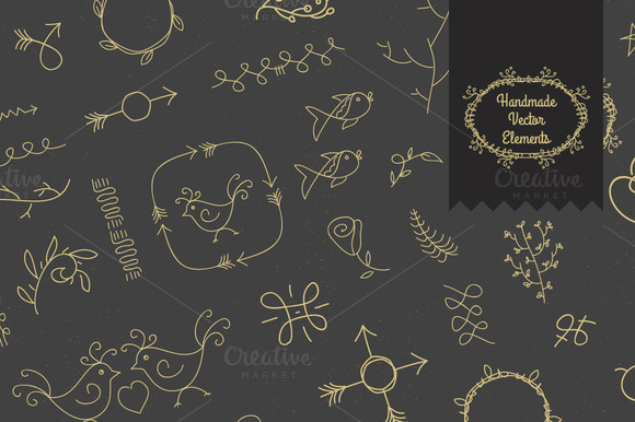 Handmade Vector Elements