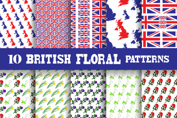 British Floral Patterns