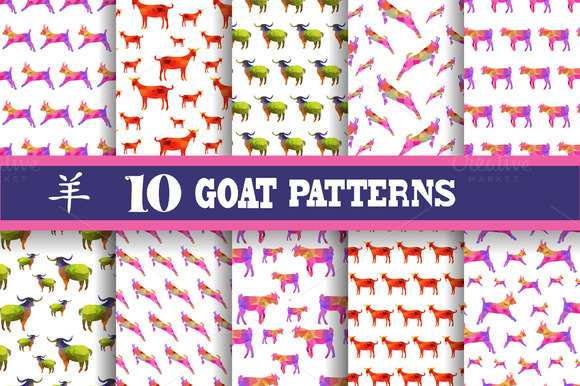 Goat Patterns