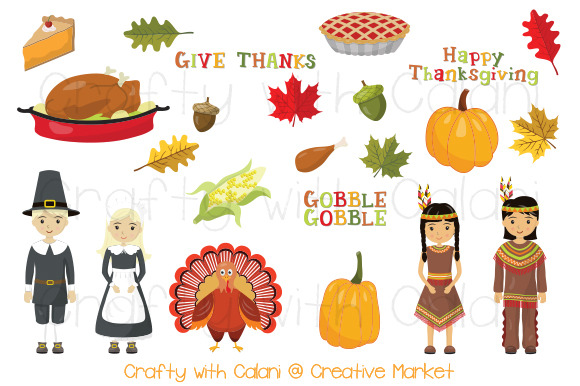 Thanksgiving Pilgrimage Clipart