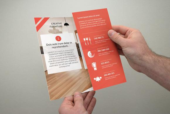 Creative A4 TriFold Brochure