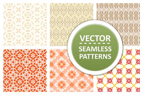 Modern Seamless Vector Patterns
