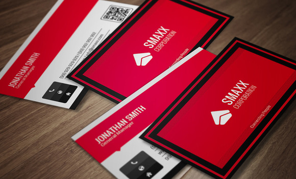 Corporate Business Card CM0001