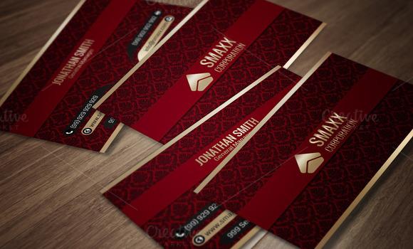 Luxury Corporate Business Card CM004