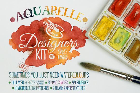 Aquarelle Designers Kit