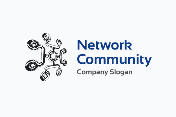 Network Community Logo Template