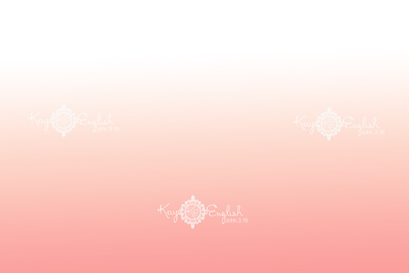 Pink Ombre Background
