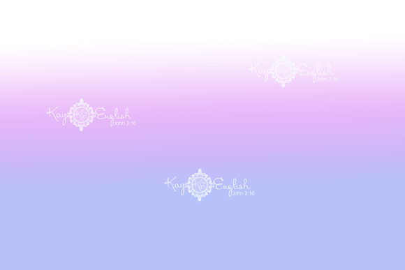Purple Ombre Background
