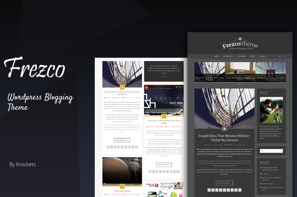 Frezco Blog Creative Wordpress