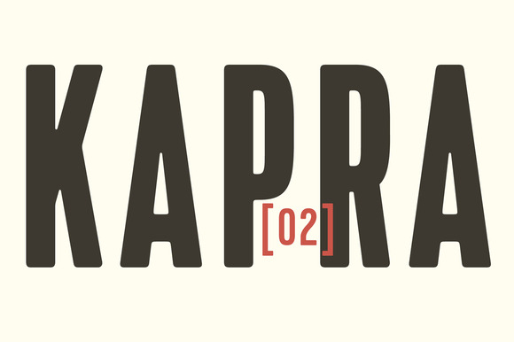 Kapra Fonts Family 50% Off