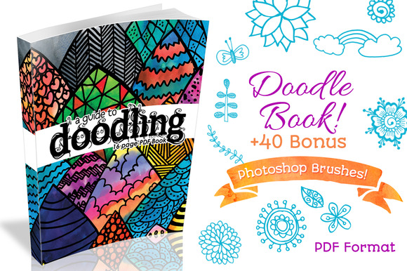 20% 0ff Doodle Book 40 Brushes