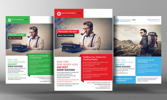 Business Idea Flyer Template