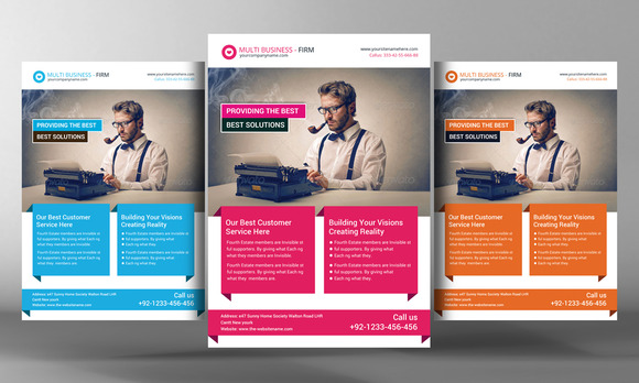 Corporate Firm Flyer Template