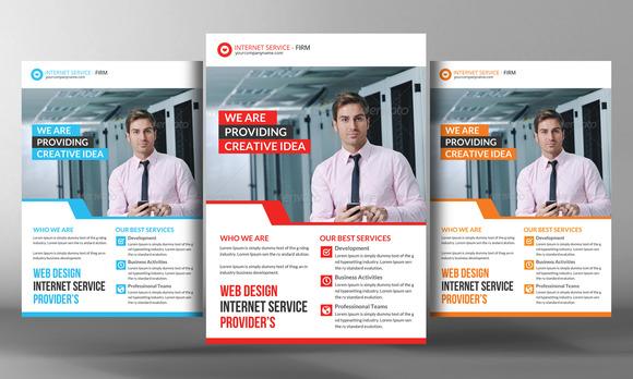Internet Service Provider Flyer