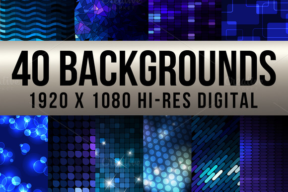 40 Digital Backgrounds