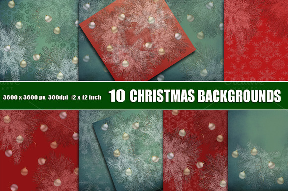 Christmas Scrapbook Backgrounds