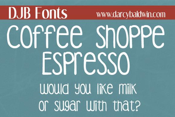 DJB Coffee Shoppe Espresso