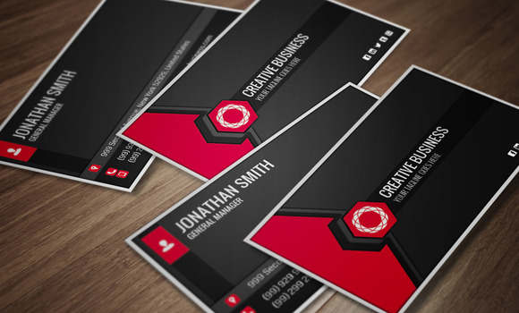 Modern Corporate Business Card CM010