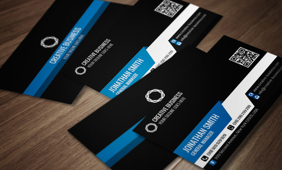 Modern Corporate Business Card CM011