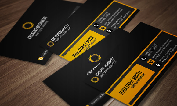 Modern Corporate Business Card CM012