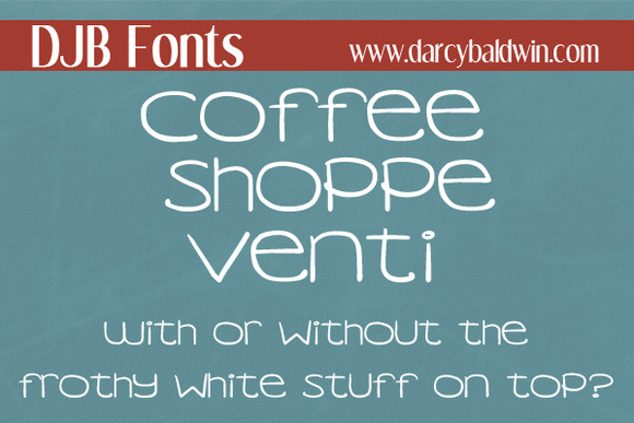 DJB Coffee Shoppe Venti