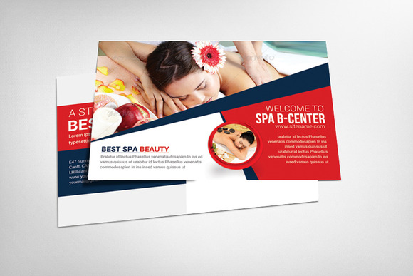 SPA Postcard Template