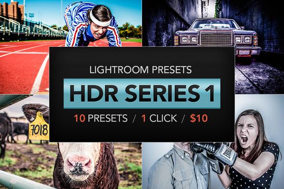 HDR Lightroom Presets V1