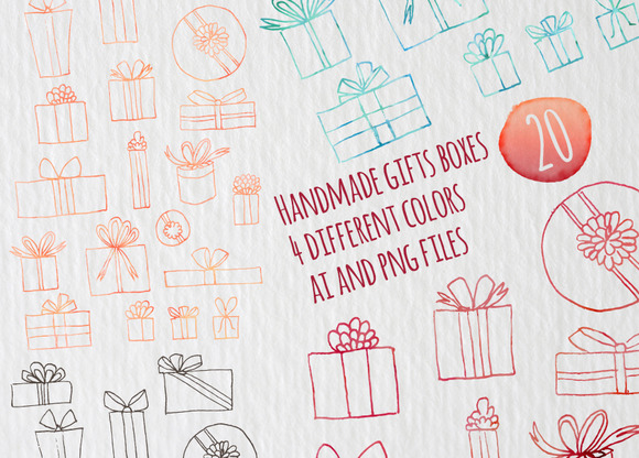 Gifts Vector Files