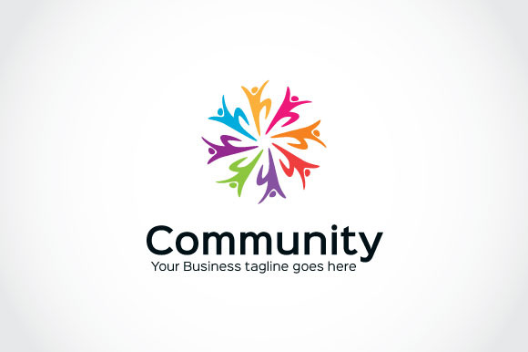 Human Community Logo Template