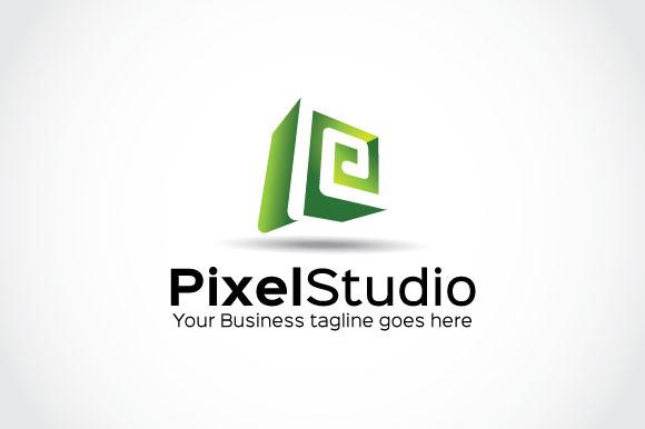 Pixel Studio Logo Template
