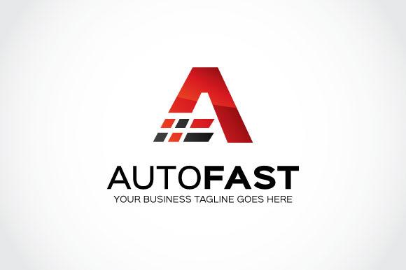 Auto Fast Logo Template