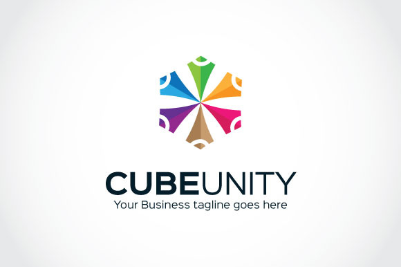 Cube Unity Logo Template