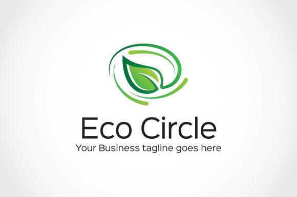 Eco Circle Logo Template