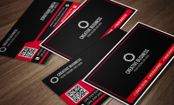 Modern Corporate Business Card CM014